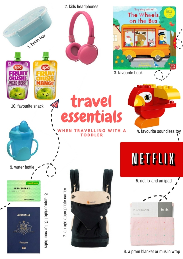 Travel Essentials for Toddler