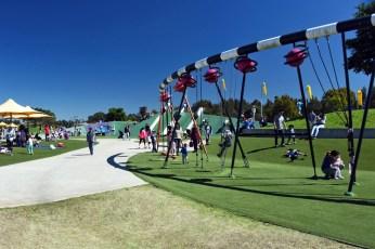 2016 Blaxland Riverside Park play space